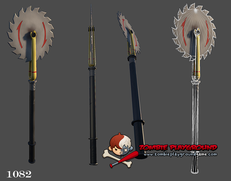 ZPG - 2 Hand Weapons - Concept to 3D Coolness! - Zombie ...
